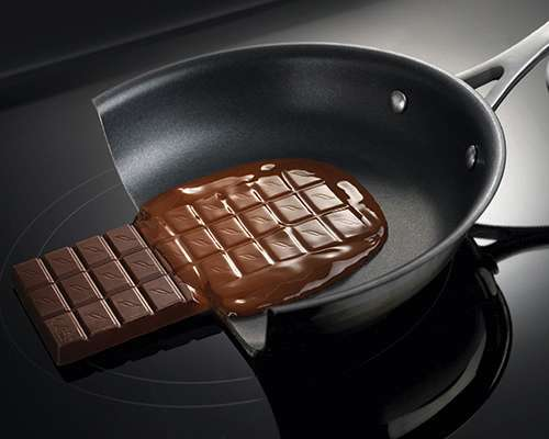 Falcon Induction Hob with Chocolate