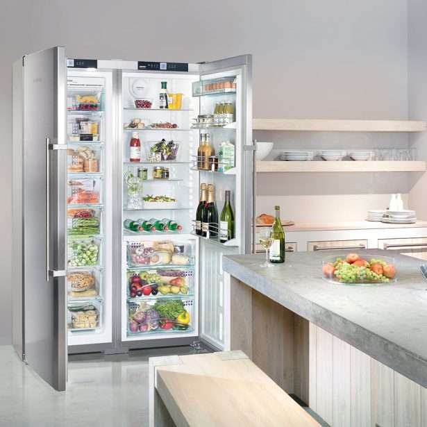 Liebherr Freestanding Side by Side SBSes 7253 Lifestyle