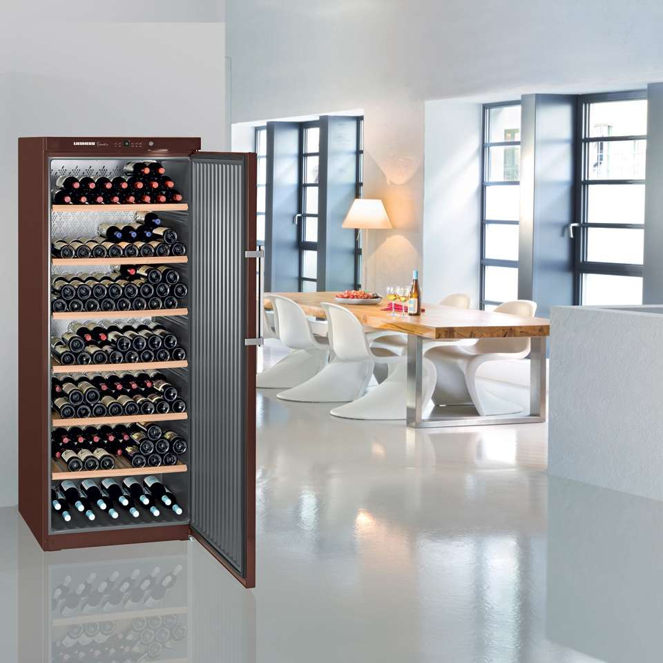 Liebherr Freestanding Single Zone Wine Cellar Lifestyle