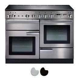 Falcon Professional 110cm Induction Range Cooker Stainless Steel And Chrome PROP110EI5SS CH