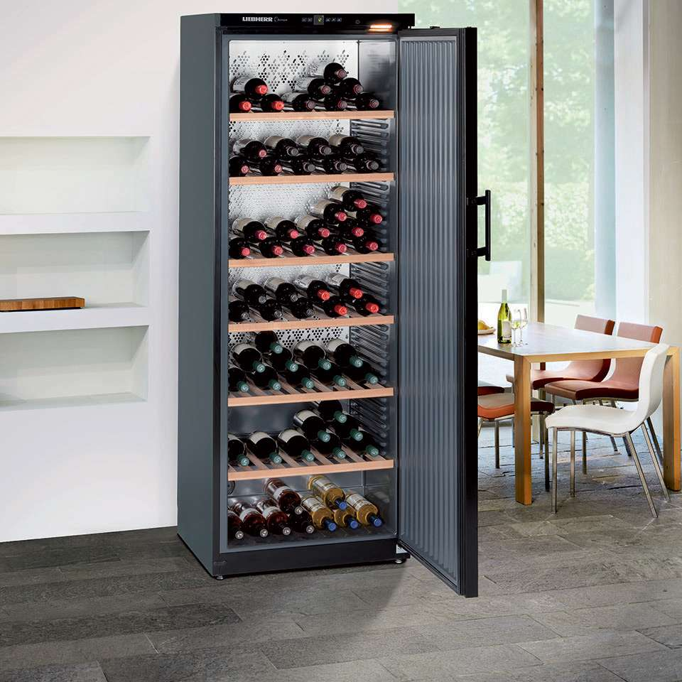 Liebherr Barrique Freestanding Single Zone Wine Cellar WKb 4611 Lifestyle