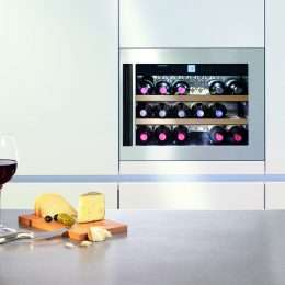 Liebherr Built-In Single Zone Wine Cellar WKEes 553 Lifestyle