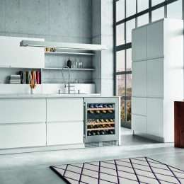 Liebherr Built In Underbench Dual Zone Wine Cellar UWTes 1672 Lifestyle