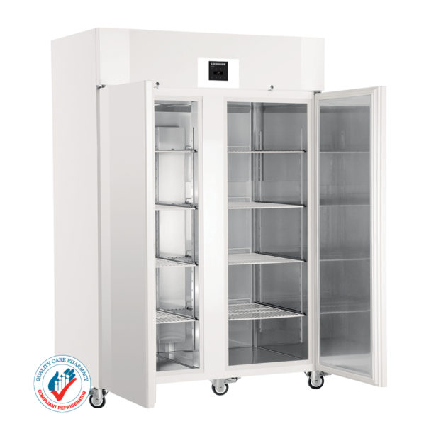 LKPv 1420 1361-litre Laboratory Refrigerator with electronic controller and solid door
