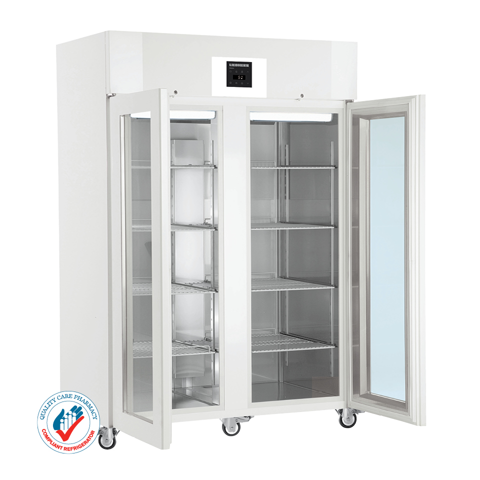 LKPv 1423 1361-litre Laboratory Refrigerator with electronic controller and glass door