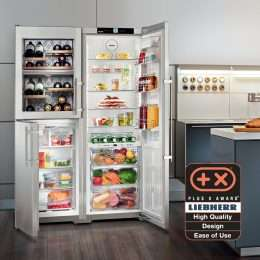 Liebherr Freestanding Side by Side SBSes 7165 Lifestyle