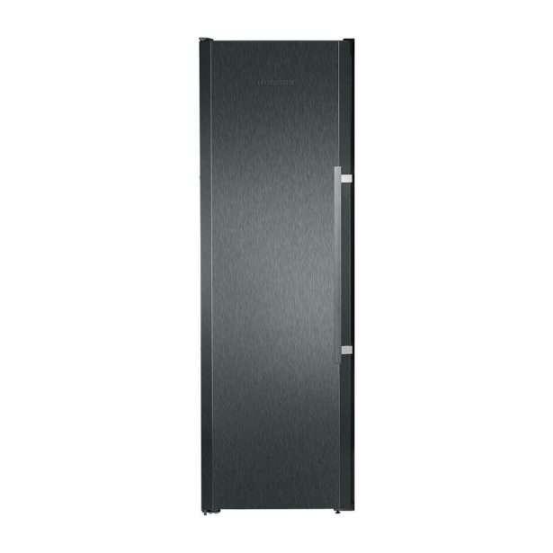 Liebherr BlackSteel Freezer With IceMaker SGNbs 3011 Closed