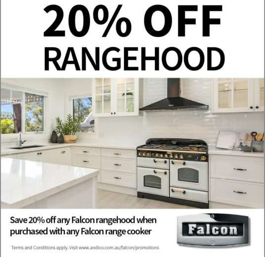Falcon 20% Off Rangehood Promotion
