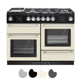 NEXUS STEAM 110CM DUAL FUEL RANGE COOKER