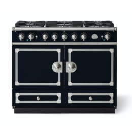 CORNUFÉ 110CM DUAL FUEL RANGE COOKER - DARK NAVY BLUE