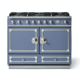 CORNUFÉ 110CM DUAL FUEL RANGE COOKER - PARIS BLUE