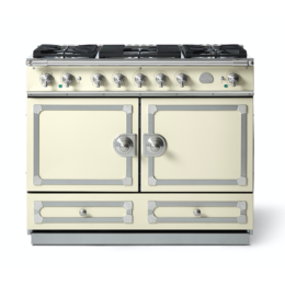 CORNUFÉ 110CM DUAL FUEL RANGE COOKER - ANTIQUE WHITE
