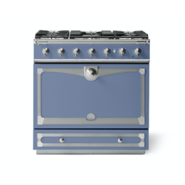 CORNUFÉ ALBERTINE 90CM DUAL FUEL RANGE COOKER - PARIS BLUE