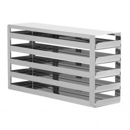 STAINLESS STEEL RACKS WITH 5 DRAWERS