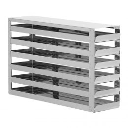 STAINLESS STEEL RACKS WITH 6 DRAWERS